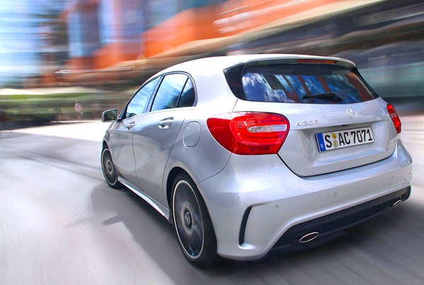 Mercedes A Class Hong Kong 2013. Picture courtesy of Auto Motor und Sport