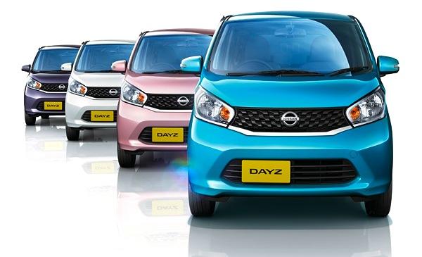 Nissan Dayz Japan June 2013