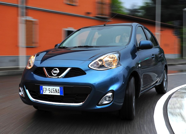 Nissan Micra Greece March 2014