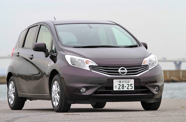 Nissan Note Japan June 2013. Picture courtesy of autoc-one.jp.