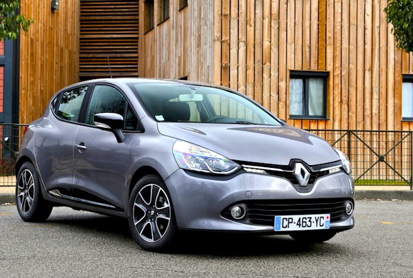 Renault Clio Netherlands May 2014. Picture courtesy of largus.fr