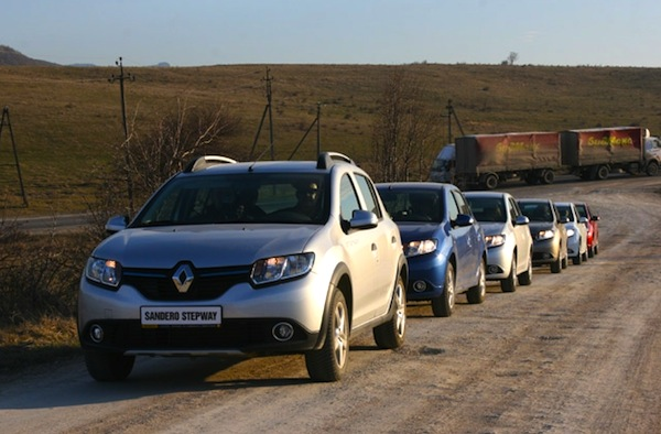 Renault Sandero South Africa May 2014. Picture courtesy of auto.am