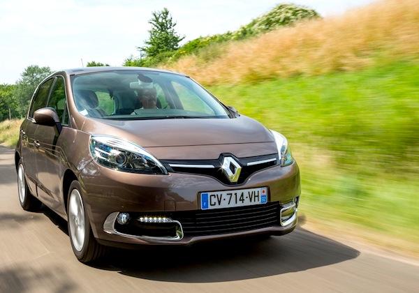 Renault Scénic Estonia August 2013