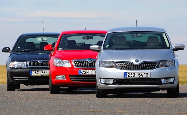 Skoda Octavia Rapid Czech Republic June 2013. Picture courtesy of autopruvodce.cz