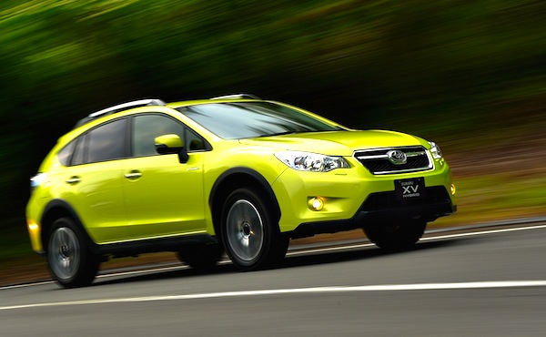 Subaru XV Crosstrek USA June 2013. Picture courtesy of Motor Trend