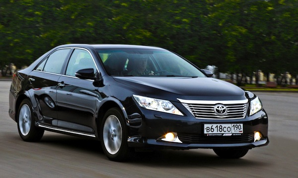 Toyota Camry World May 2013. Picture courtesy of zr.ru