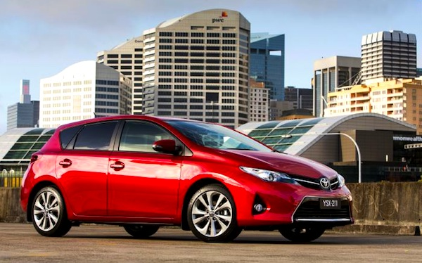Toyota Corolla Australia June 2013