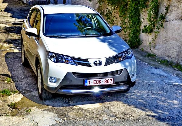 Toyota RAV4 Liechtenstein June 2013. Picture courtesy of zr.ru