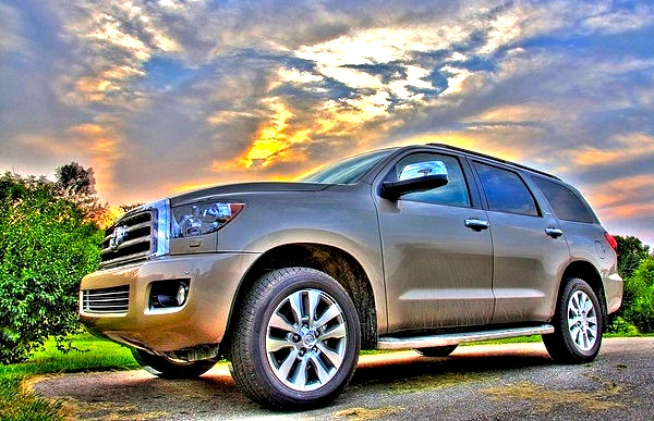 Toyota Sequoia. Picture courtesy of Flickr.com