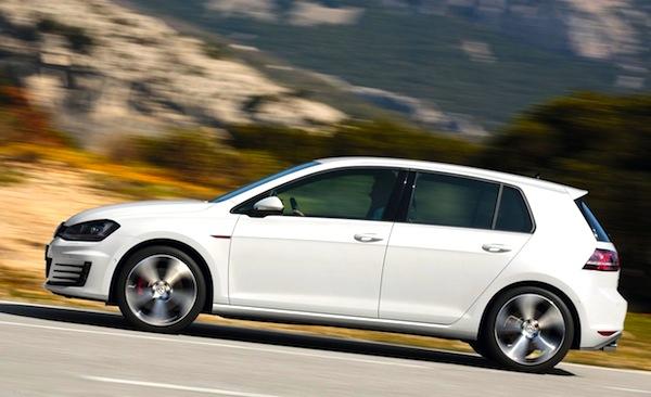 VW Golf Europe June 2013