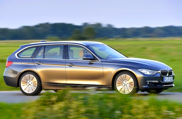 BMW 3 Series Touring Italy July 2013