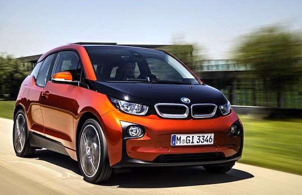 BMW i3 Norway March 2014
