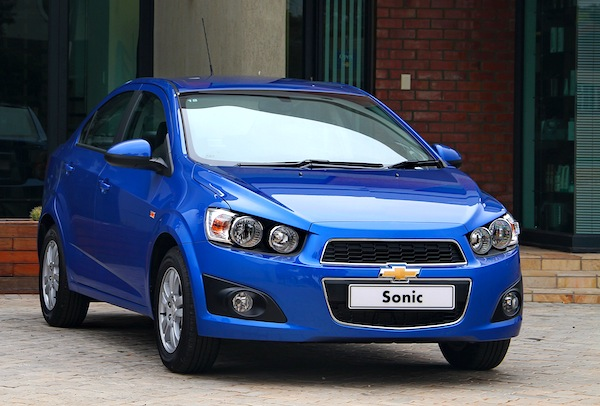 Chevrolet Sonic Mexico July 2013