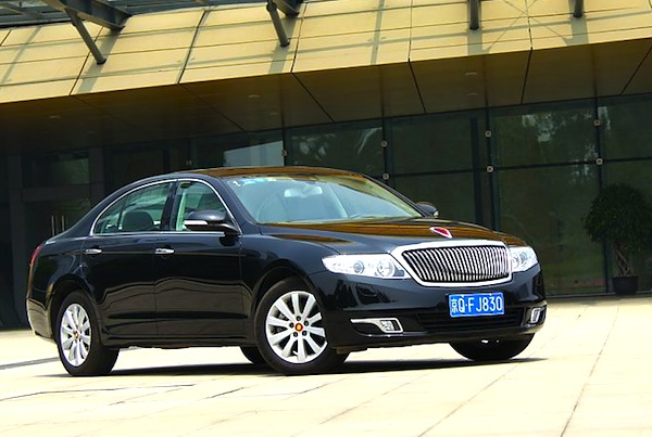 FAW Hongqi H7 China July 2013. Picture courtesy of auto.sina.com.cn