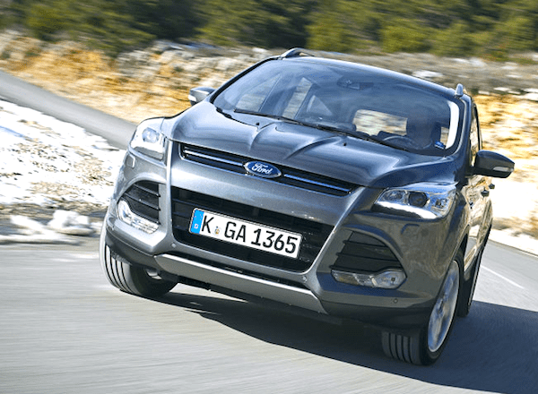 Ford Kuga Germany January 2014. Picture courtesy of autobild.de