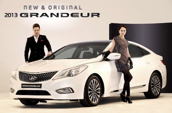 Hyundai Grandeur South Korea July 2013