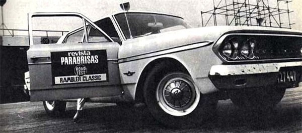 IKA Rambler Argentina 1963. Picture courtesy of testdelayer.com.ar
