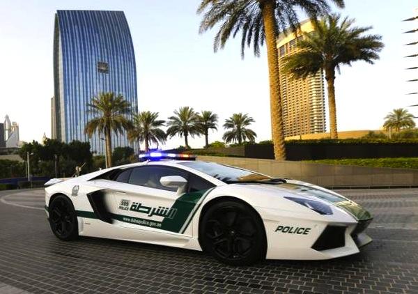 Lamborghini Aventador Police Dubai June 2013