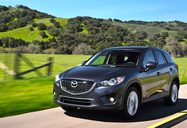 Mazda CX-5 Canada July 2013. Picture courtesy of motortrend.com