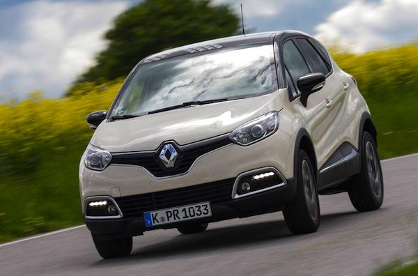 Renault Captur France July 2013