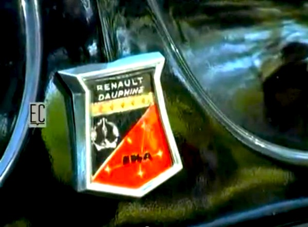 Renault Dauphine IKA logo
