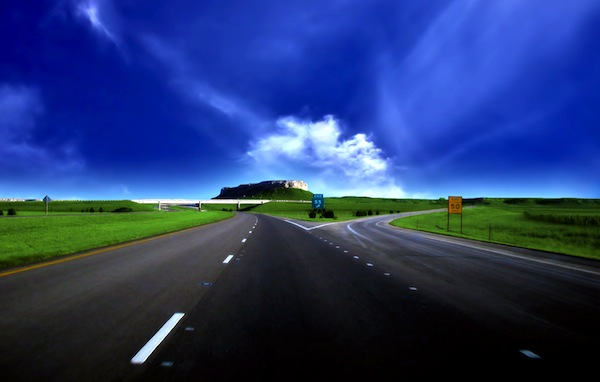 Road image. Picture courtesy of Google