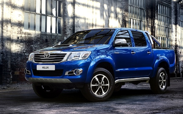Toyota Hilux Gulf June 2013. Picture courtesy of drivearabia.com
