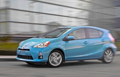 Toyota Prius C. Picture courtesy of www.motortrend.com