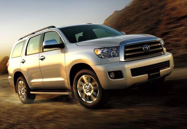 Toyota Sequoia Saudi Arabia June 2013