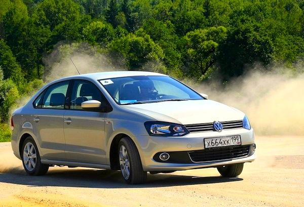VW Polo Russia July 2013