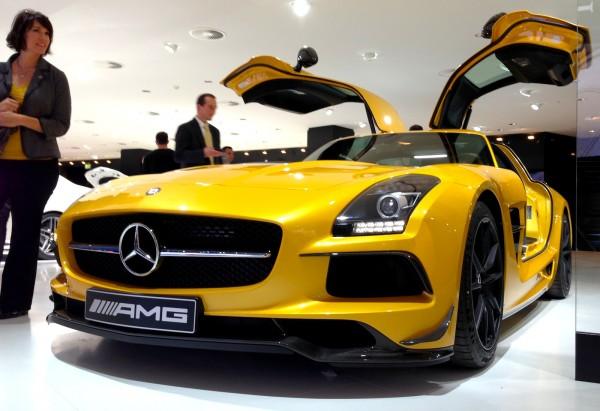 10 Mercedes SLS AMG Frankfurt Auto Show September 2013