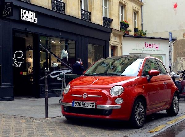 5 Fiat 500 Paris September 2013