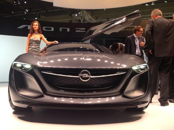5 Opel Monza Concept Frankfurt Auto Show September 2013