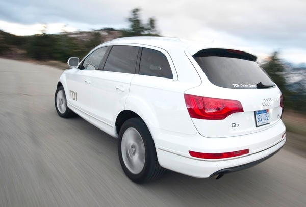 Audi Q7 USA August 2013. Picture courtesy of motortrend.com