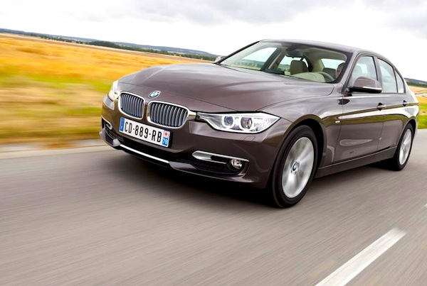 BMW 3 Series Switzerland 2013. Picture courtesy of largus.fr