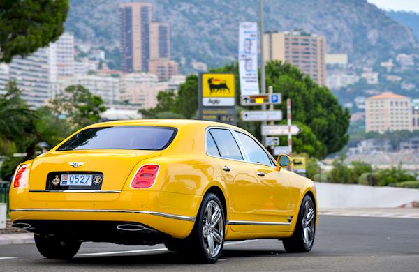 Bentley Mulsanne Monaco 2013. Picture courtesy of Seber Giesbers
