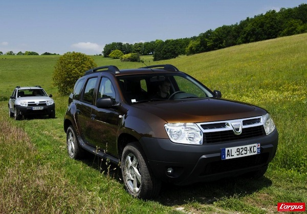 Dacia Duster France 2012. Picture courtesy of largus.fr