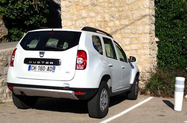 Dacia Duster France September 2013
