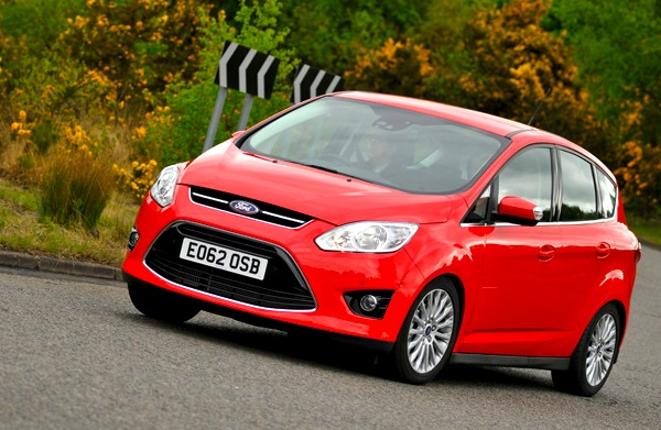 Ford C-Max Wales August 2013. Picture courtesy of whatcar.com