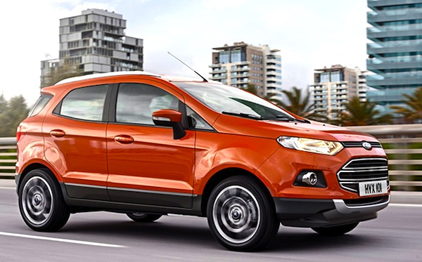 Ford Ecosport South Africa August 2013