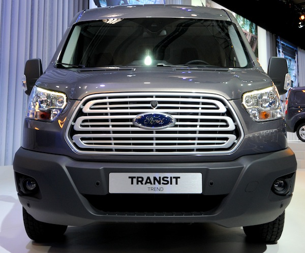 Ford Transit UK August 2013