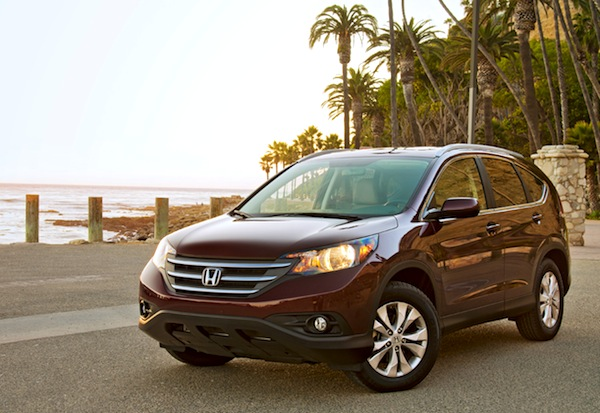 Honda CR-V USA August 2013. Picture courtesy of motortrend.com