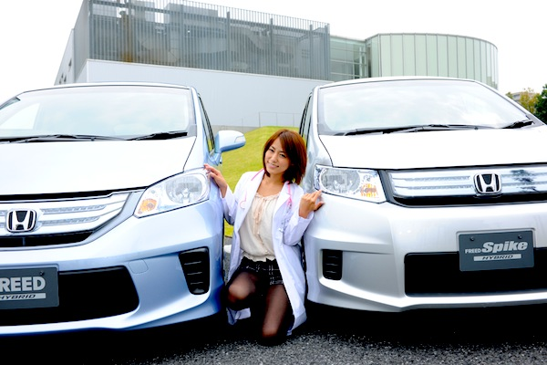 Honda Freed Japan August 2013. Picture courtesy of autoc-one.jp
