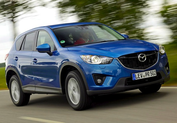 Mazda CX-5 Norway 2013. Picture courtesy of autobild.de