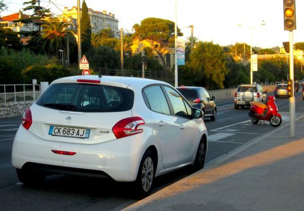 Peugeot 208 Cannes September 2013