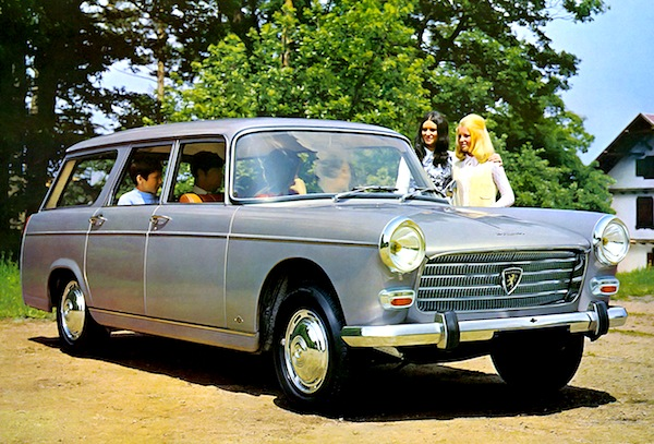 Peugeot 404 Break France 1963