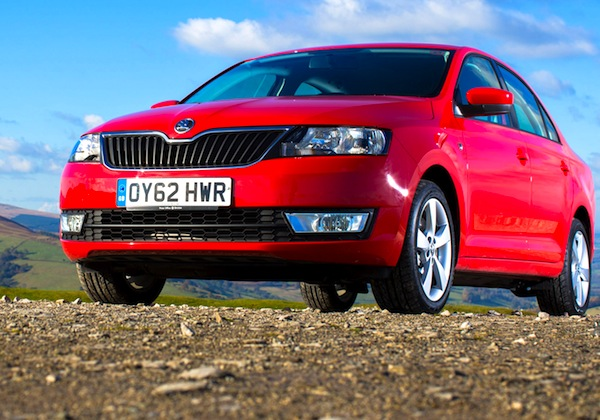 Skoda Rapid World July 2013