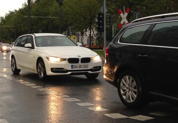 Street Scene Frankfurt Auto Show September 2013