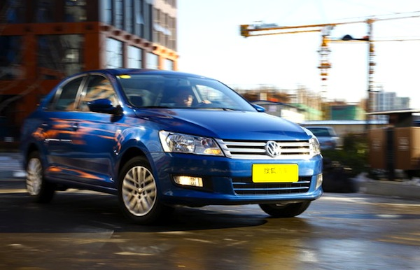 VW Santana China August 2013. Picture courtesy of auto.sohu.com