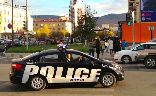 2 Kia Rio Police